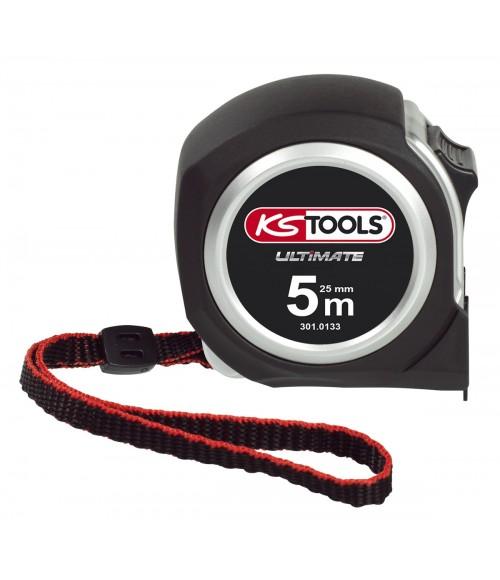 KS TOOLS 301.0132 Mètre à ruban Bi-matière ULTIMATE 5x19mm