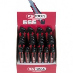 KS TOOLS 907.2104D Présentoir de 28 cutters universels