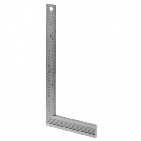 EQUERRE DROITE ONGLET INOX 250MM