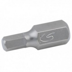 KS TOOLS 930.1007 Embout de vissage 6 pans, L.30 mm - A 10 mm - 7 mm