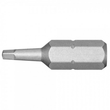 EMBOUT 1 4 CARRE N 1 LONG 25MM