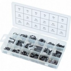 KS TOOLS 970.0520 Assortiment de clavettes, circlips et chevilles, 295 pcs