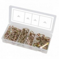 KS TOOLS 970.0550 Assortiment de goupilles clips, 50 pcs