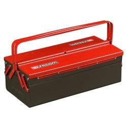 Boite à outils métallique Facom avec 3 cases
