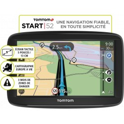 GPS TOMTOM Start 52 Europe 45 - carto gratuite à vie