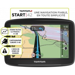 GPS TOMTOM Start 42 Europe 45 - carto gratuite à vie
