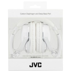 Casque Dynamic Sound blanc JVC