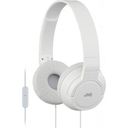 Casque Powerful bass blanc JVC