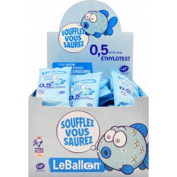 Pack de 40 Ballons éthylotests 0,5g