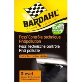 PASS CONTROLE TECHNIQUE BARDAHL ANTIPOLLUTION DIESEL 9045