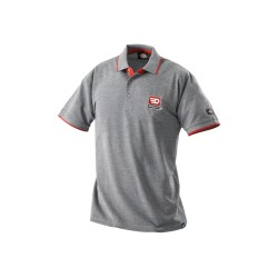 Polo gris taille L