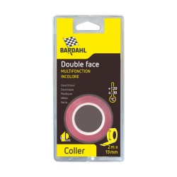 Double face transparent Bardahl 19mm x 2m