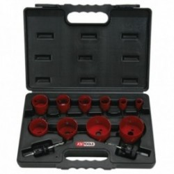KS TOOLS 129.5545 Coffret de 10 scies cloches 19 à 67mm