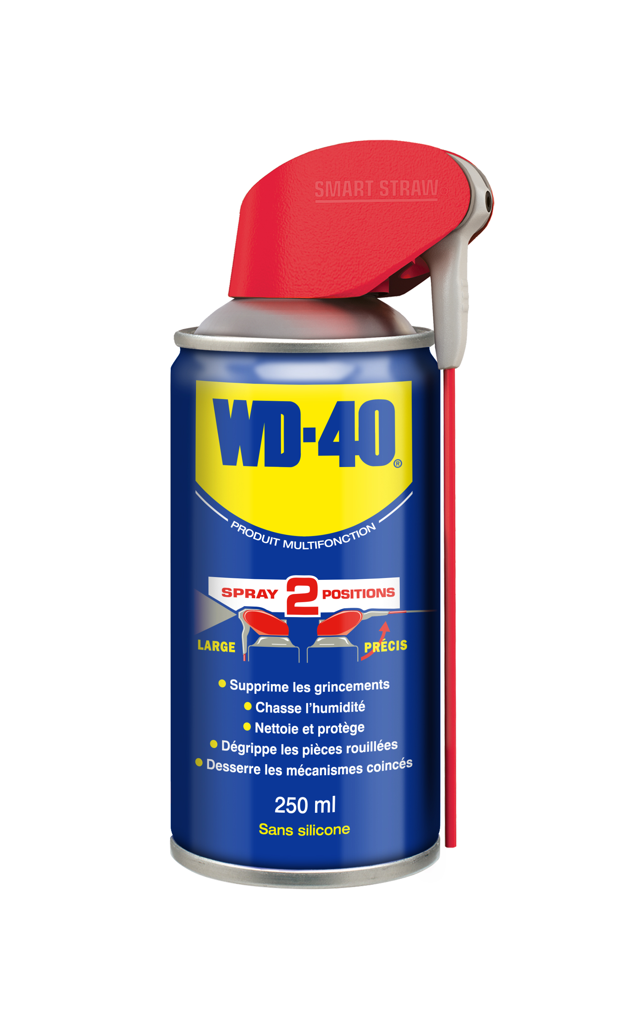 WD40 multifonction 250ml